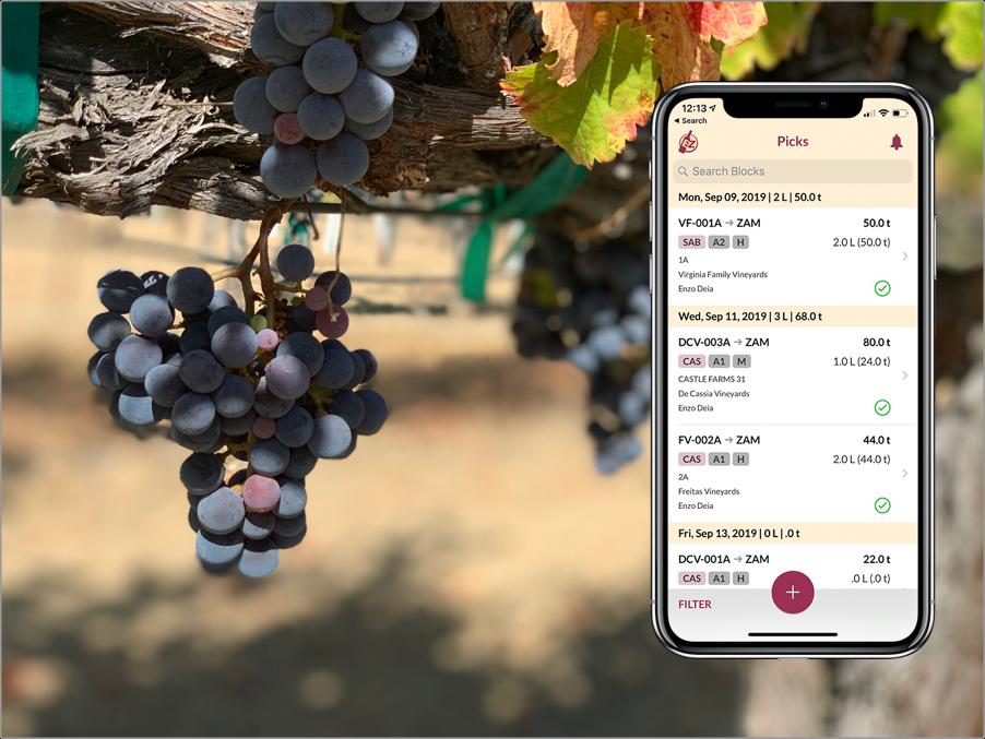 vinoEZ iOS App